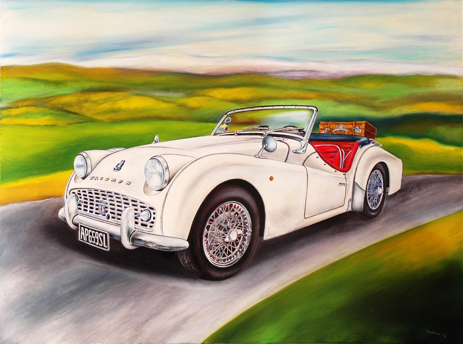 """Frosinone – Pochi giorni alla mostra pittorica """"Auto (mobili ..."""