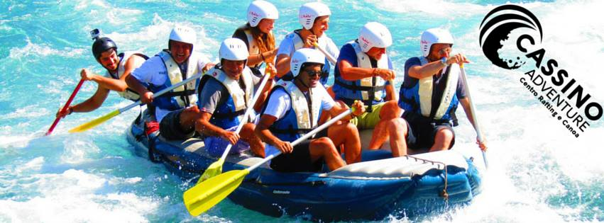 cassino canoa rafting