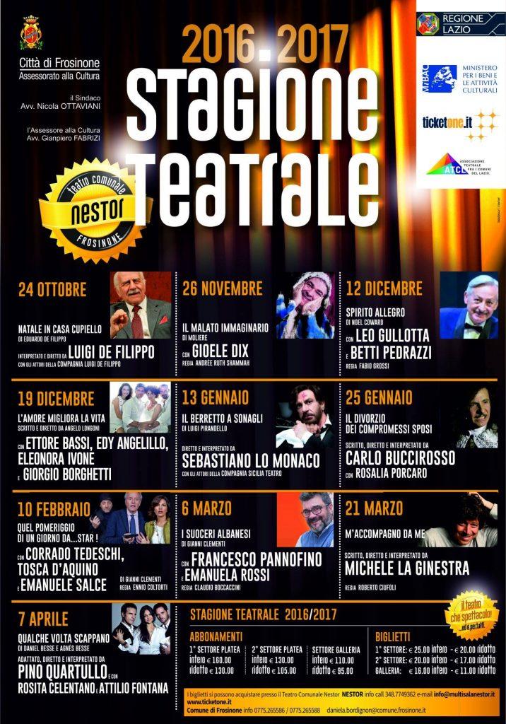 locandina teatro fr